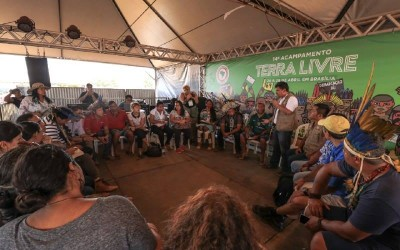 International Committee writes a thanking letter to APIB for the Terra Livre Camp