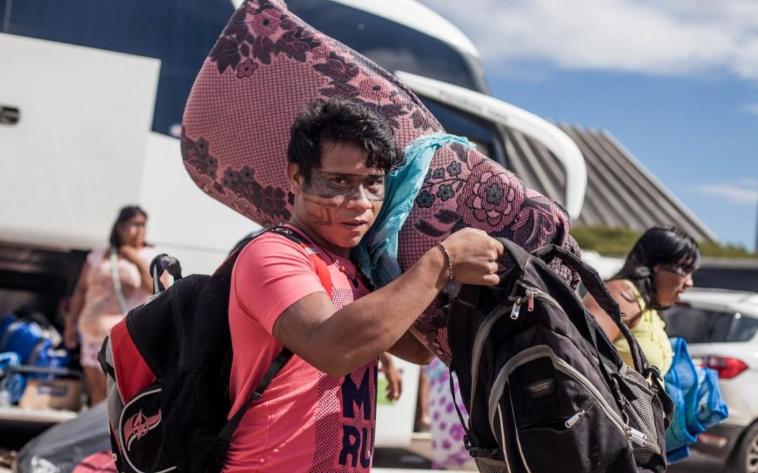 Campamento Tierra Libre 2017  tendrá protestas y casi dos mil indígenas