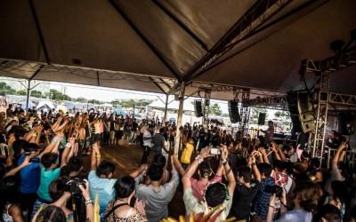 Mais de cem povos indígenas participam da abertura do Acampamento Terra Livre
