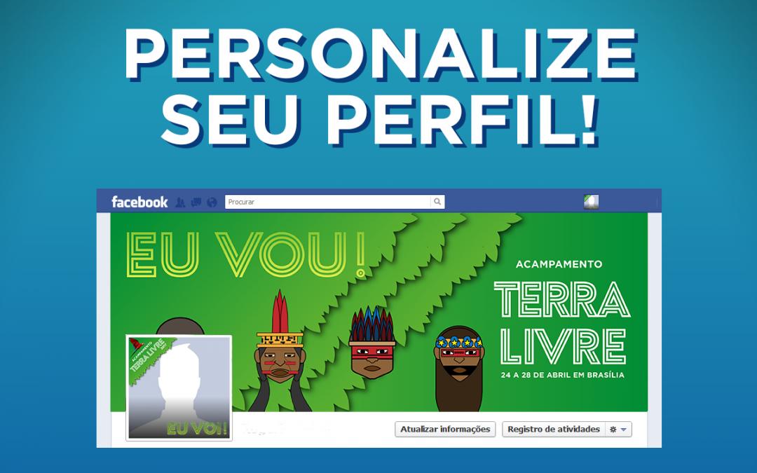 Personalize seu perfil!