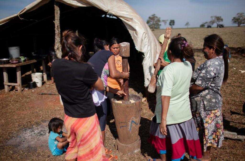 Operação destrói acampamento Guarani e Kaiwoá, e apreende duas armas de brinquedo
