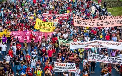 Dia 19 de abril: Mobilizações rumo ao Acampamento Terra Livre