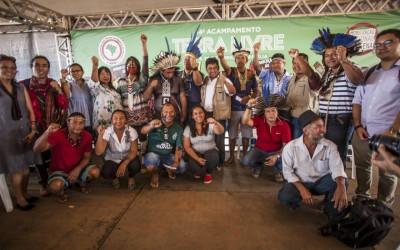 Acampamento Terra Livre propõe aliança entre povos indígenas de diversos países