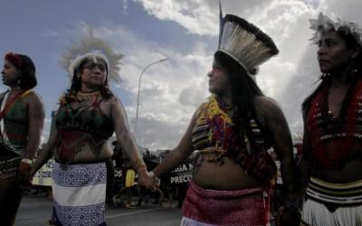 Mulheres indígenas: a força do 14º Acampamento Terra Livre