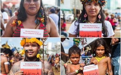 Relatórios lançados no ATL escancaram violação de direitos indígenas