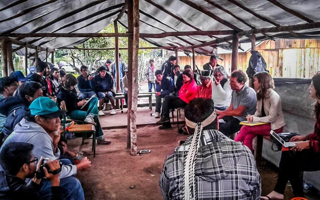 Carta do Povo Guarani à sociedade nacional sobre a CPI da FUNAI e INCRA