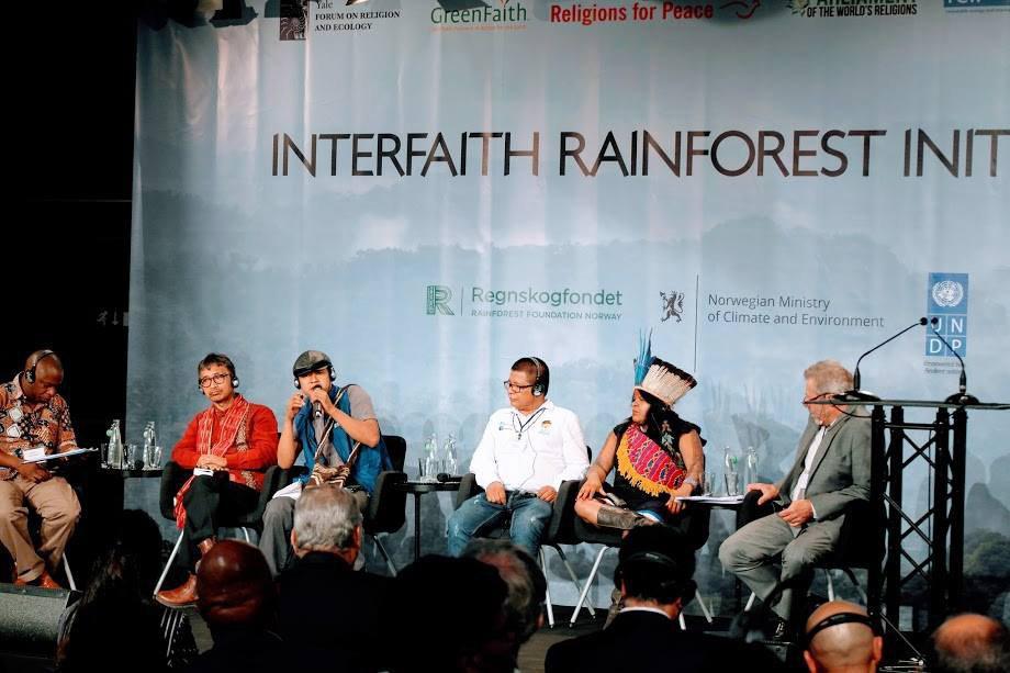 Declaração de Oslo dos participantes do Interfaith Rainforest Initiative