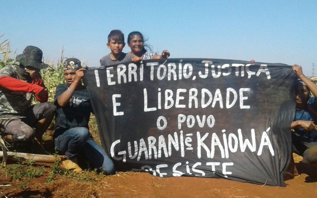Ataque à Retomada Yvu Vera deixa feridos no Mato Grosso do Sul