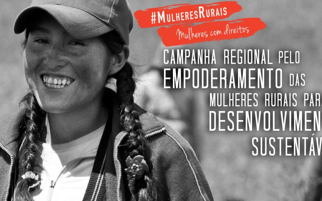 Campanha #MulheresRurais lança concurso para agricultoras brasileiras