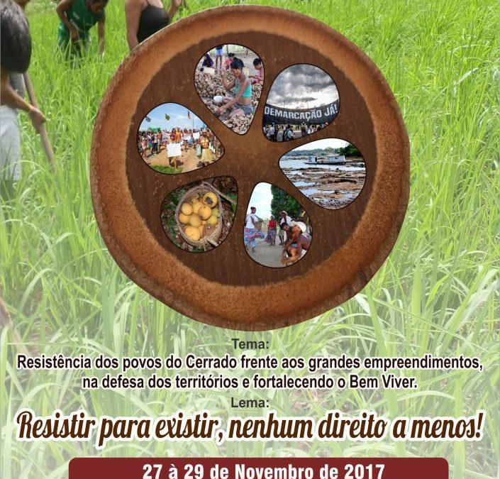 VI Projeto Seminário Bem Viver Indígena – Resistir para existir, nenhum direito a menos!