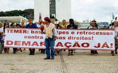 Pelo fim do racismo institucional e da violência contra os povos indígenas