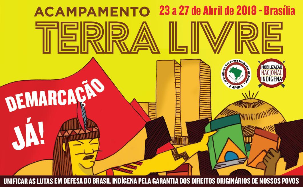 Convocatoria Campamento Tierra Libre (ATL) 2018