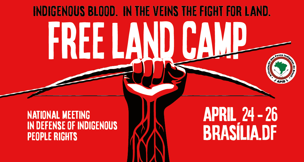 Indigenous people from all over Brazil will gather in Brasilia to report attacks and reaffirm resistance