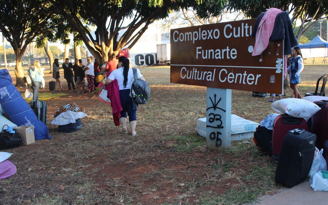 Do Rio Grande do Sul a Brasília: mulheres indígenas do sul do país chegam para a 1ª Marcha das Mulheres Indígenas