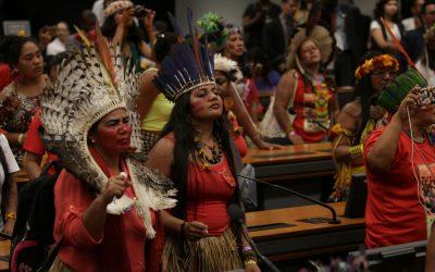 Mulheres indígenas realizam seminário sobre direitos sociais na Câmara dos Deputados