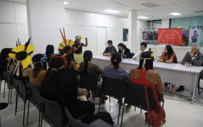 Mulheres indígenas se reúnem com Ministro da Saúde e Secretária da SESAI