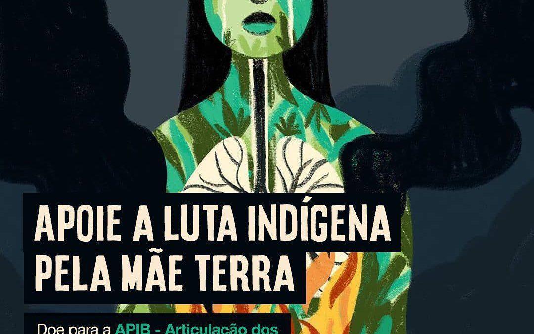 Apoie o movimento indígena e a luta pela Amazônia