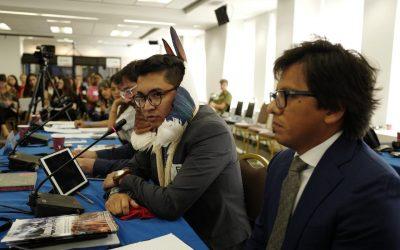 Em Washington, APIB e COIAB denunciam na CIDH política ecocida do governo Bolsonaro