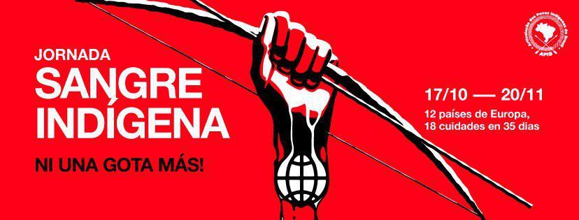 Delegación de líderes indígenas irá a Europa para denunciar violaciones en Brasil