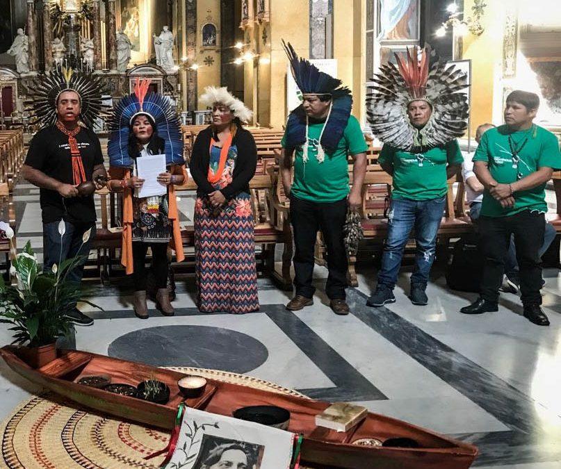 Carta de la Jornada Sangre indígena: Ni Una Gota Más al Pope Francisco