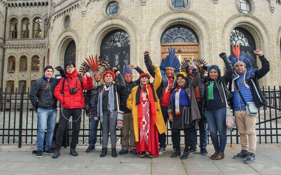 Acompanhe a Jornada Sangue Indígena: Nenhuma Gota a Mais