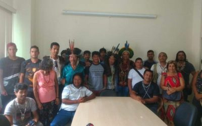 Ocupar para defender – 7 dias de ocupação indígena na sede da FUNAI