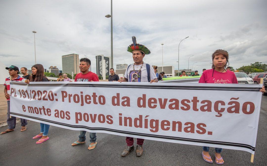 Communiqué contre le projet de loi sur l'exploitation des ressources naturelles sur les terres autochtones