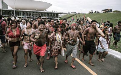 Nota conjunta do Conselho do Povo Terena e Aty Guasu Kaiowá Guarani em apoio a Sonia Guajajara