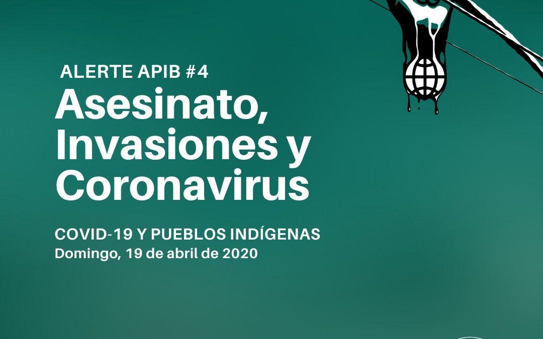 Asesinato, invasiones y coronavírus