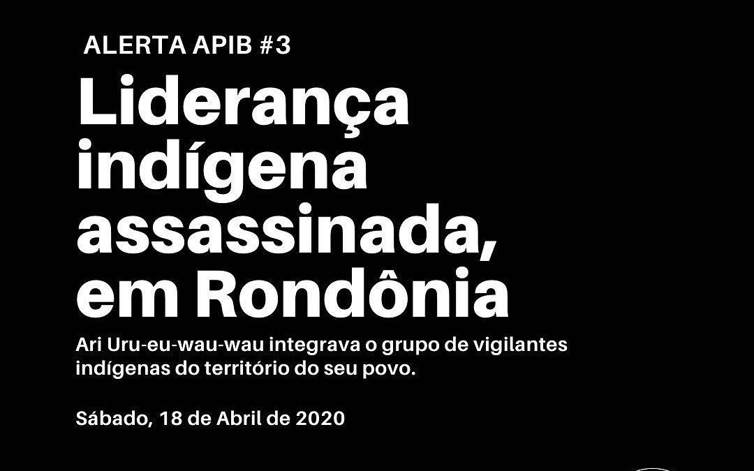 #03: Liderança indígena assassinada em Rondônia