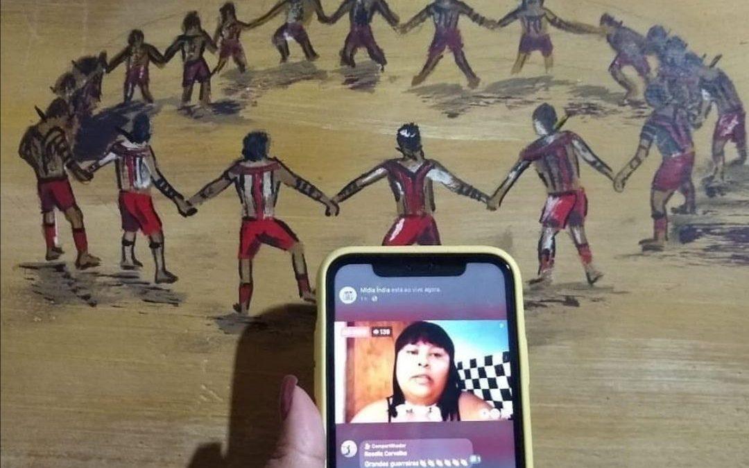 Em tempos de coronavírus, indígenas fazem acampamento virtual