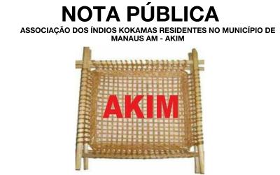 COVID-19: NOTA SOBRE AUMENTO DE MORTES DO POVO KOKAMA