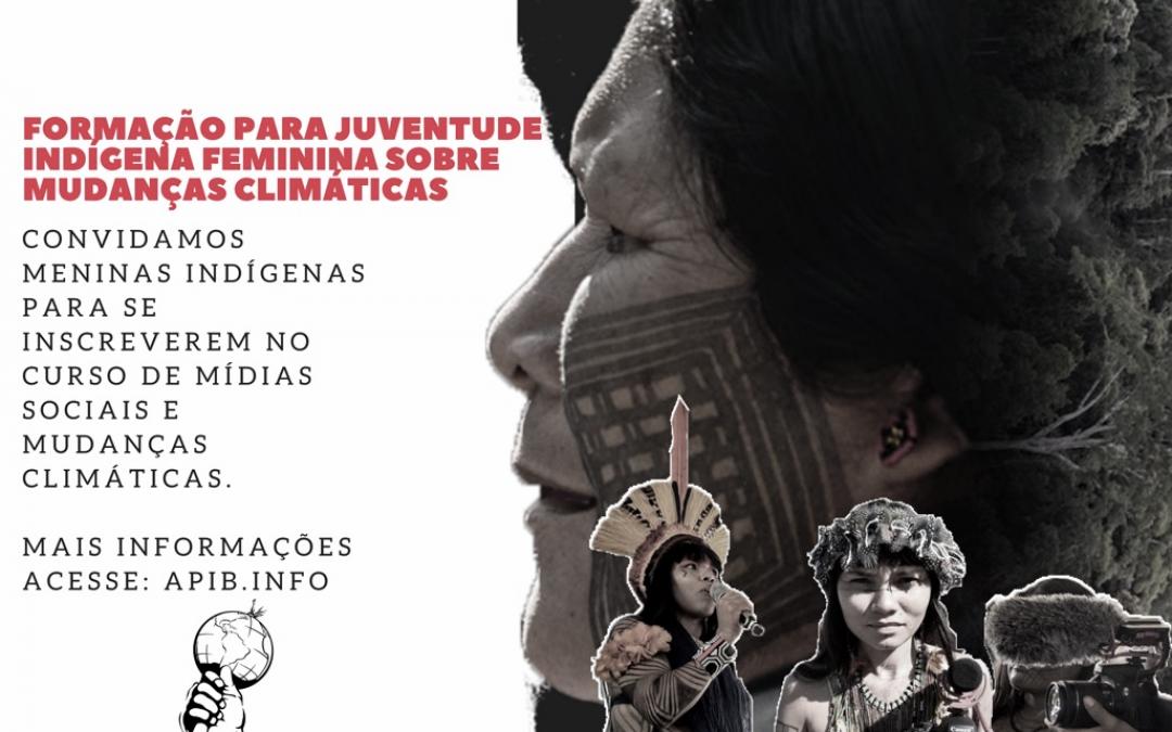 INSCREVA-SE: Formação para jovens meninas indígenas