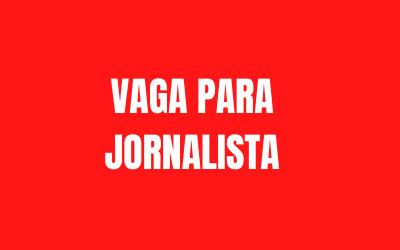 Termo de Referência – Contratação de jornalista