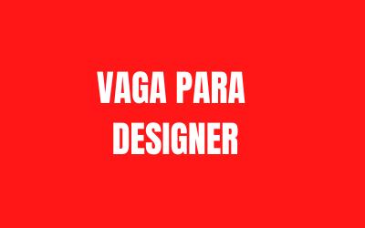 Termo de Referência – Contratação Designer