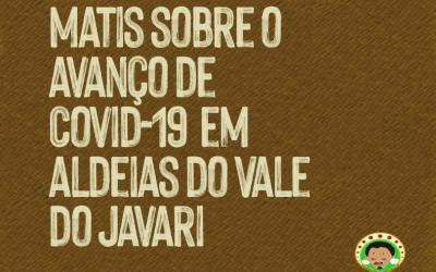 Nota do povo Matis sobre o avanço de Covid-19 em aldeias do Vale do Javari