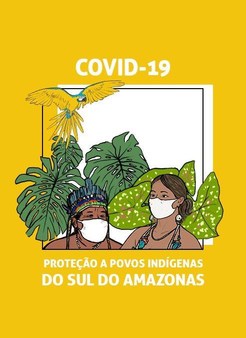 Ação emergencial combate a Covid-19 em Terras Indígenas prejudicadas por queimadas e desmatamento