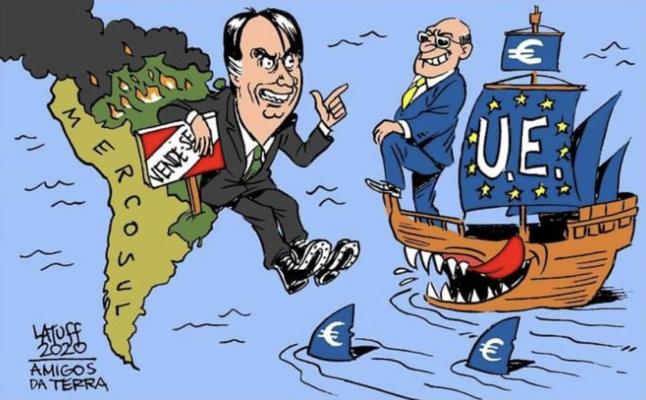 FRENTE DE ORGANIZAÇÕES DA SOCIEDADE CIVIL  BRASILEIRA CONTRA O ACORDO MERCOSUL-EU