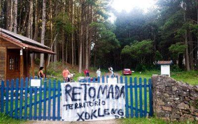 """""""Seguiremos lutando pela terra"""" – Nota do povo Xokleng"""