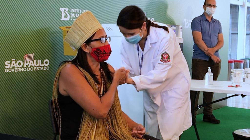 Apib lança campanha para garantir vacinação contra Covid-19 para povos indígenas