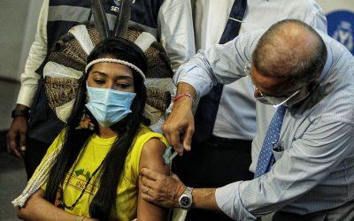 Vacina para todos os povos indígenas do Nordeste, Minas Gerais e Espírito Santo!