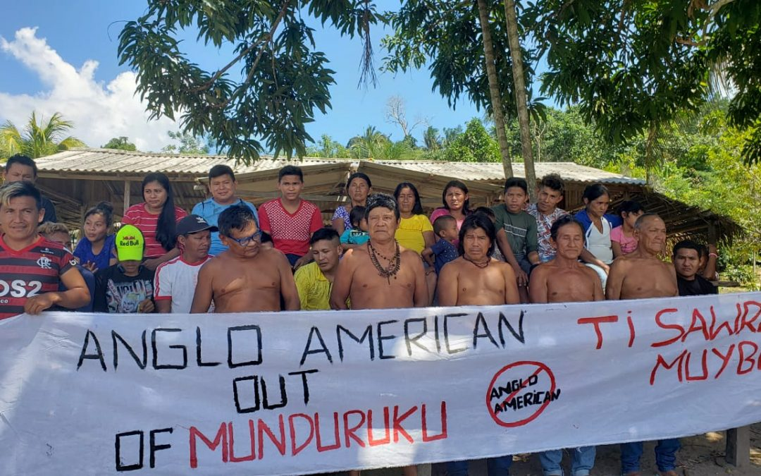 Diga à Anglo American para ficar fora do Território Munduruku!