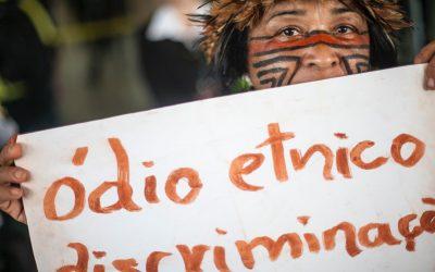 Governo racista não define indígenas!