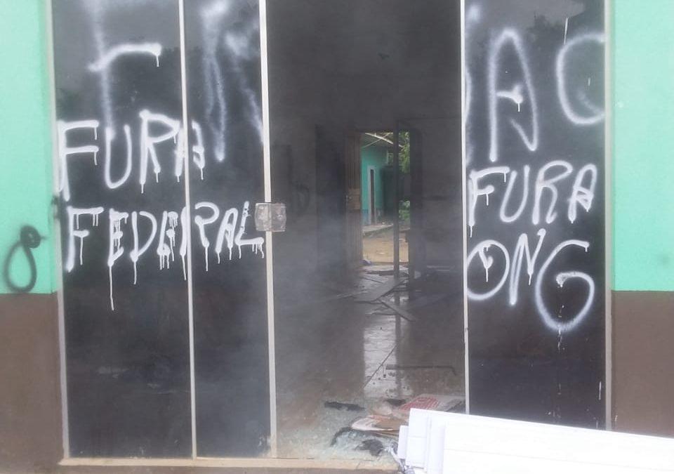 MPF e mulheres Munduruku lançam campanha após garimpeiros ilegais atacarem sede de associação no Pará