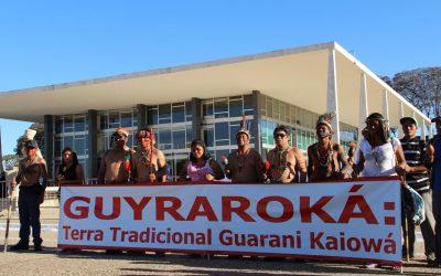 STF julga caso da Terra Indígena Guyraroka, anulada com base no marco temporal e sem que comunidade fosse ouvida