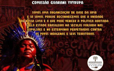 """Nota da comissão Guarani Yvyrupa pela defesa dos direitos dos Povos Indígenas e de Repúdio a """"Carta da comissão de Agricultores e Produtores Indígenas"""""""