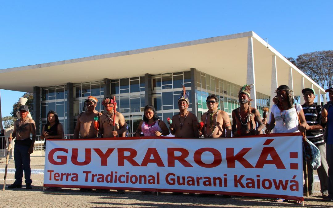 STF acolhe recurso da comunidade e abre caminho para reverter decisão que anulou demarcação TI Guyraroka