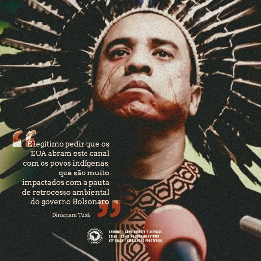 Indígenas pedem aos EUA para participar de plano para Amazônia