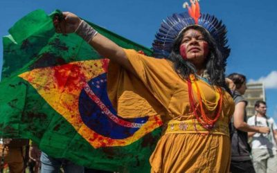 Carta manifesto da Articulação Nacional das Mulheres Indígenas Guerreiras da Ancestralidade (Anmiga) em apoio a Sonia Guajajara