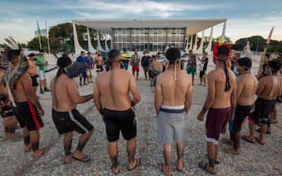 Ministro pede destaque e STF interrompe julgamento sobre demarcação de terras indígenas